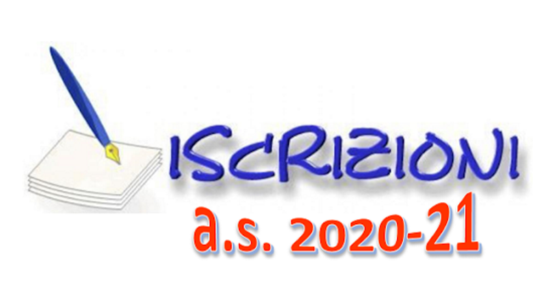 Iscrizione anno scolastico 2020/2021