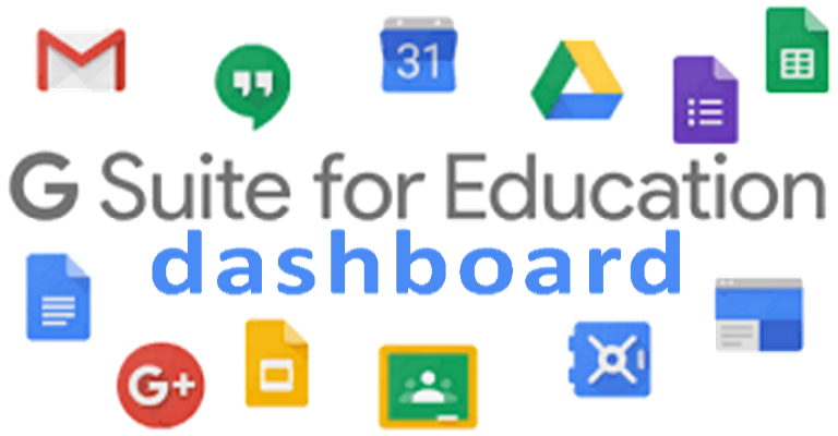 G Suite for Education dasshboard