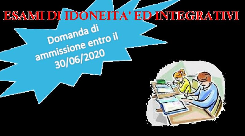 Esami Idoneità a.s. 2020/2021