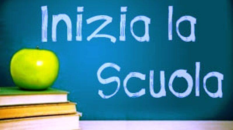 Accoglienza, Inizio attività con orario delle lezioni, Ubicazione provvisoria delle classi