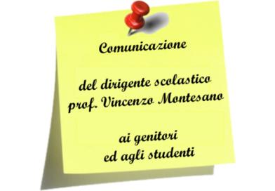 Comunicazione ai genitori ed agli studenti