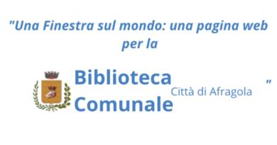 """Comunicato di diffusione del progetto <i> """"Una Finestra sul mondo: una pagina web per la Biblioteca comunale""""</i>"""