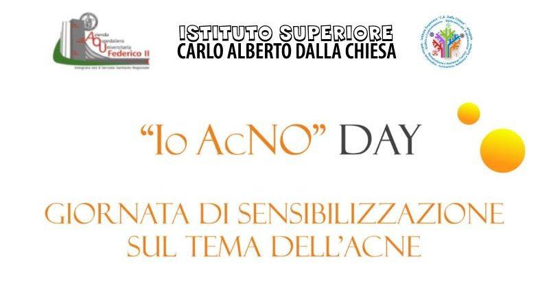 """""""Io AcNO"""" DAY – giornata di sensibilizzazione sul tema dell'acne"""